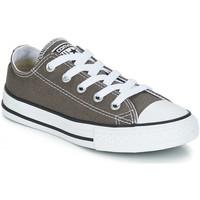Zapatos Niños Zapatillas bajas Converse CHUCK TAYLOR Gris