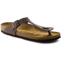 Zapatos Mujer Chanclas Birkenstock GIZEH Marron