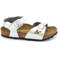 Zapatos Niña Sandalias Birkenstock RIO Argent