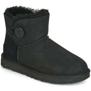 Zapatos Mujer Botas de nieve UGG BAILEY BUTTON Noir