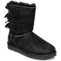 Zapatos Hombre Botas de nieve UGG BAILEY BOW Black