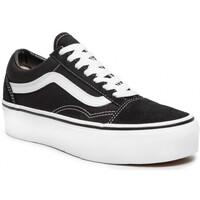Zapatos Hombre Zapatillas bajas Vans OLD SCHOOL PATFORM Noir