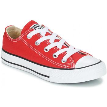 Zapatos Niños Zapatillas bajas Converse CHUCK TAYLOR Rouge