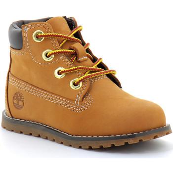 Zapatos Niños Botas de caña baja Timberland BOOT Marron