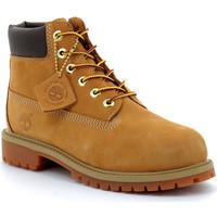 Zapatos Niños Botas de caña baja Timberland 6-inch premium Marron