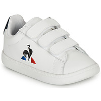Zapatos Niños Zapatillas bajas Le Coq Sportif COURTSET INF Blanco