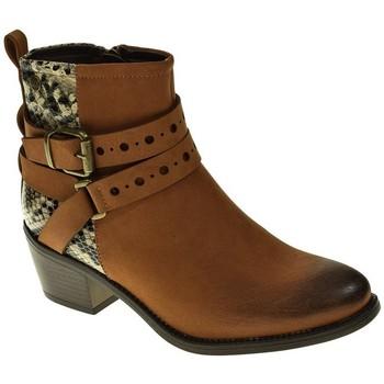 Zapatos Mujer Botines Isteria 9222 Marrón