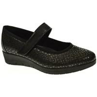 Zapatos Mujer Bailarinas-manoletinas Duendy 030 Negro