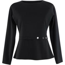 textil Mujer Tops / Blusas Lisca Estelle  manga larga top negro Pearl Black