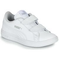Zapatos Niños Zapatillas bajas Puma Puma Smash v2 L V PS Blanco