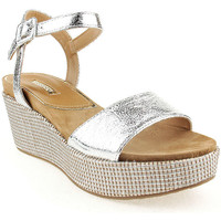 Zapatos Mujer Sandalias Different L Sandals Lady Plata