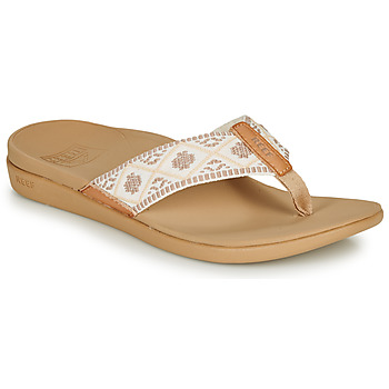 Zapatos Mujer Chanclas Reef REEF ORTHO-BOUNCE WOVEN Blanco