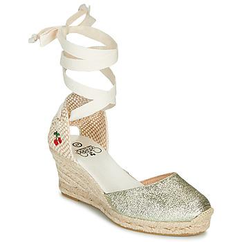 Zapatos Mujer Sandalias Le Temps des Cerises POLY Oro