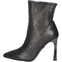 Zapatos Mujer Botines Laura Biagiotti 5723 Gris antracita