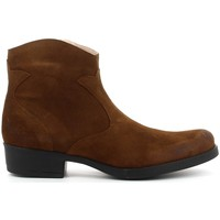 Zapatos Niña Botines Acebo's 9779 cuero Marron