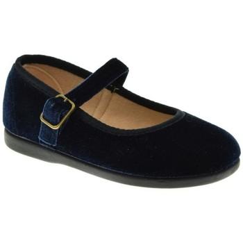 Zapatos Niña Bailarinas-manoletinas Tokolate MANOLETINA NIÑA  MARINO Azul