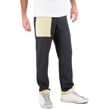 textil Hombre pantalones chinos White Sand | Pantalon Largo, Gris | WS_19WSU66 336_34 Gris