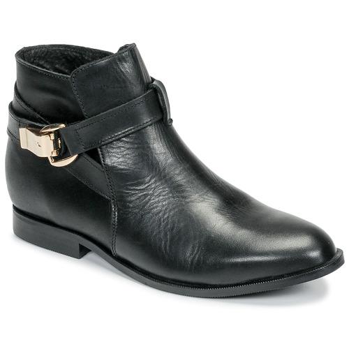 Zapatos Mujer Botas de caña baja Betty London DOODI Negro