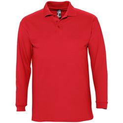 textil Hombre Polos manga larga Sols WINTER 2 CASUAL MEN Rojo