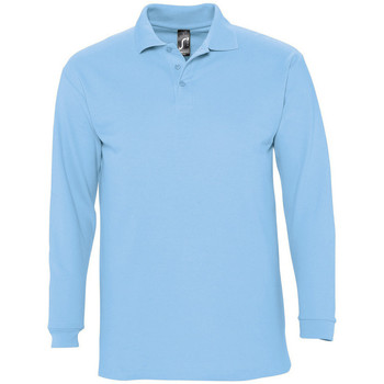 textil Hombre Polos manga larga Sols WINTER 2 CASUAL MEN Azul