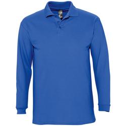textil Hombre polos manga larga Sols WINTER 2 CASUAL MEN Azul