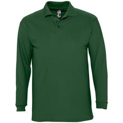 textil Hombre Polos manga larga Sols WINTER 2 CASUAL MEN Verde