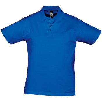 textil Hombre Polos manga corta Sols PRESCOTT CASUAL DAY Azul