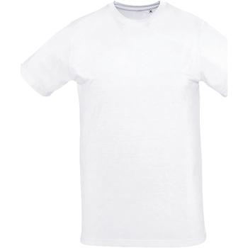 textil Hombre Camisetas manga corta Sols SUBLIMA CASUAL MEN Blanco