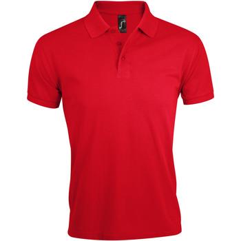 textil Hombre Polos manga corta Sols PRIME ELEGANT MEN Rojo