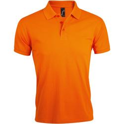 textil Hombre polos manga corta Sols PRIME ELEGANT MEN Naranja