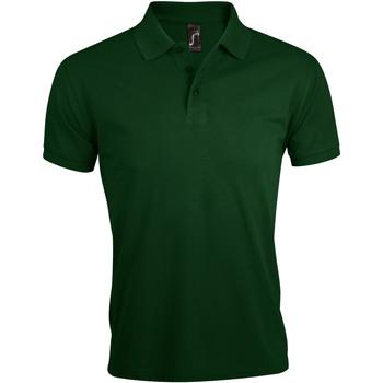 textil Hombre polos manga corta Sols PRIME ELEGANT MEN Verde
