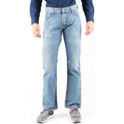textil Hombre Vaqueros rectos Wrangler Dayton W179EB497 azul
