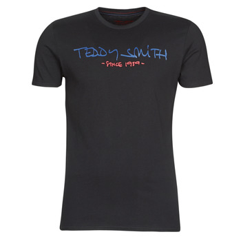 textil Hombre Camisetas manga corta Teddy Smith TICLASS Negro