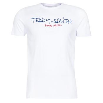 textil Hombre camisetas manga corta Teddy Smith TICLASS Blanco