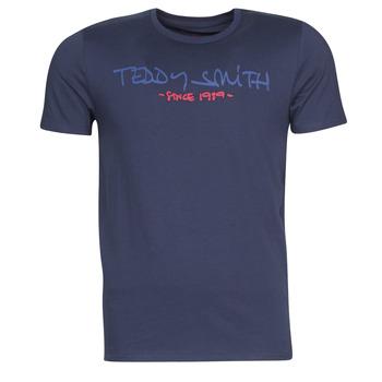 textil Hombre camisetas manga corta Teddy Smith TICLASS Marino