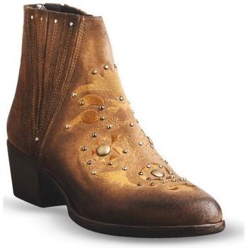 Zapatos Mujer Botines Exé Shoes BELA Botines Mujer Marrón Marrón