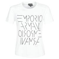 textil Mujer Camisetas manga corta Emporio Armani DONOVANN Blanco