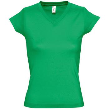 textil Mujer Camisetas manga corta Sols MOON COLORS GIRL Verde