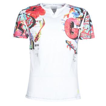 textil Hombre camisetas manga corta Desigual LIAN Multicolor