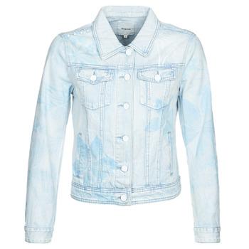 textil Mujer Chaquetas denim Desigual WHAII Azul