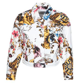 textil Mujer Chaquetas denim Desigual FANTASY Multicolor