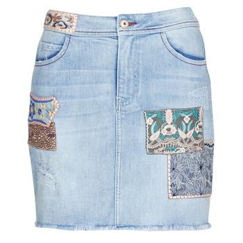 textil Mujer Faldas Desigual PATTY Azul