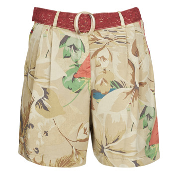 textil Mujer Shorts / Bermudas Desigual PEARL HARBOUR Beige