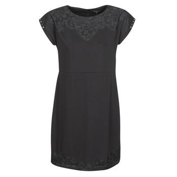textil Mujer vestidos cortos Desigual BANQUET Negro