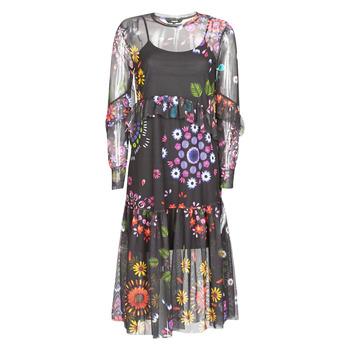 textil Mujer Vestidos largos Desigual PORTLAND Multicolor