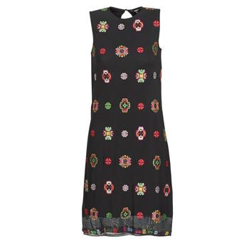 textil Mujer vestidos cortos Desigual TRESOR Multicolor
