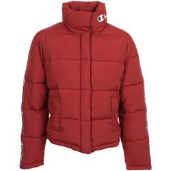 textil Mujer Plumas Champion Jacket Wn's Rojo