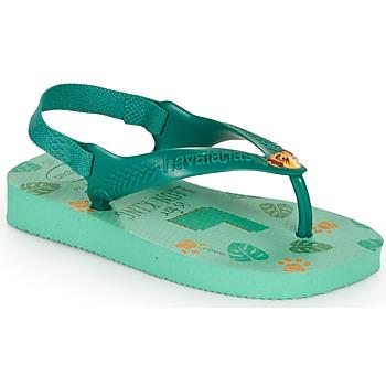 Zapatos Niños Chanclas Havaianas BABY DISNEY CLASSICS II Verde
