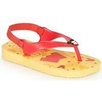 Zapatos Niño Chanclas Havaianas BABY DISNEY CLASSICS II Amarillo / Rojo