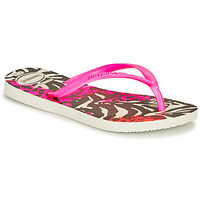 Zapatos Niña Chanclas Havaianas SLIM ANIMALS Pink / Negro
